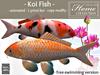 Tlc koi fish white mesh free