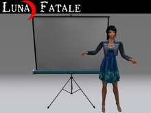 Traditional Projection Screen (Animated Projector Add-on)