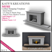 **LIMITED PROMO** FULL PERM MESH Fireplace - Lothar, Hanging Fireplace