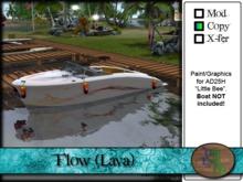 """>^OeC^< - AD25H """"Flow (Lava)"""" Custom Paint Applier"""