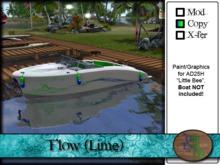 """>^OeC^< - AD25H """"Flow (Lime)"""" Custom Paint"""
