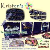 Kristen's @ - Fennux Media Sales Board
