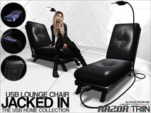 Razor/// USB Jacked In - Lounge Chair