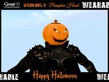 Gaagii - Wearable Pumpkin Head