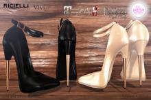 60% OFF R.icielli - VIVI High Heels Fatpack PROMO