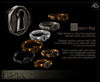 .Eldritch. Keeper's Ring
