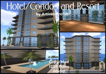 Prefab Hotel/Condos/Apartments and Resort
