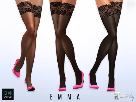 Star Outlet Stockings Emma - Maitreya Applier - Basic 3 Styles
