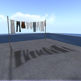 Laundry with Shadow boxed