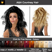 A&A Courtney Hair 11 Colors Variety Pack. Medium sexy full style