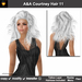 A&A Courtney Hair White (Color 11). Medium sexy full style