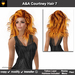 A&A Courtney Hair Copper (Color 7). Medium sexy full style