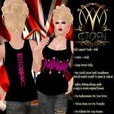 ::ViXen:: Def Leppard Pink T-Shirt (Womens)