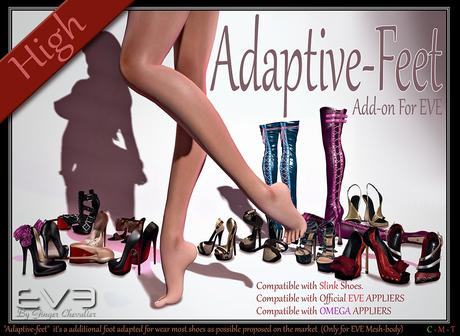 EVE Adaptive-feet high