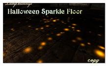 Halloween Sparkle Floor -boxed