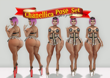 Plushberry ~ Chanellica Pose Set