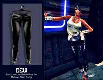"""""""DEW"""" OUTLET /Lilith leggings black series 1 /with appliers"""