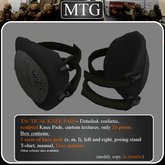 >>MTG<< Tactical Knee Pads BLACK /tactical/ protective / army / skateboard / sport