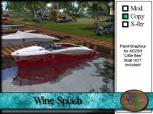 """>^OeC^< - AD25H """"Wine Splash"""" Custom Paint"""