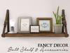 Fancy Decor: Belt Shelf (stained)
