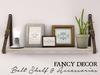 Fancy Decor: Belt Shelf (white)