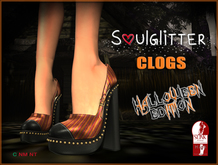 PROMO *Soulglitter* Clogs (Slink High) - Halloween Edition