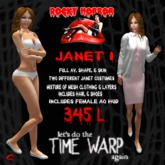 Empire Emporium - Rocky Horror Janet 1