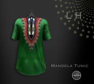 L&H :: Mandela Tunic  Green   ::   Mesh