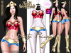 **Dirty Princess** Hottest Wonder Princess Outfit w/Boots