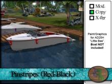 ">^OeC^< - AD25H ""Pinstripes (Red-Black)"" Custom Paint"