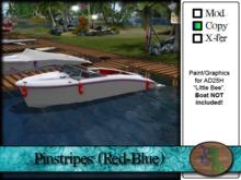 ">^OeC^< - AD25H ""Pinstripes (Red-Blue)"" Custom Paint"