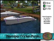 """>^OeC^< - AD25H """"Pinstripes (Violet-Purple)"""" Custom Paint"""