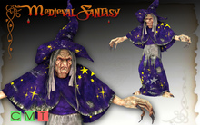 [MF] Mesh Halloween witch statue (boxed)