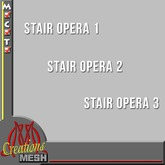 Stair Opera 1, 2 and 3 FULL PERM MESH VALUE PACK, stairs