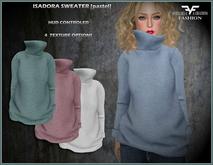 ::FAC:: Isadora Sweater pastels