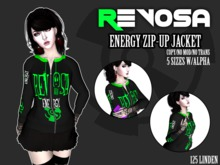 REVOSA Energy Zip-up Jacket