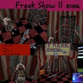 Freak Show ll with tent & sounds (crate)