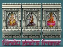 MADRAS Hindu God's Frame
