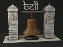 MADRAS MESH INDIA TEMPLE BELL