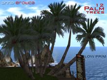AnnaErotica - 12 Palm Trees - 3 prim!