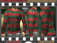 FULL - ZED FITTED MESH Aesthetic Halloween Shirt - Come to Freddy - Available in 6 Designz