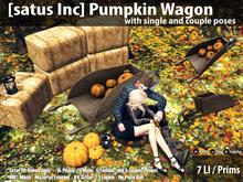 [satus Inc] Pumpkin Wagon