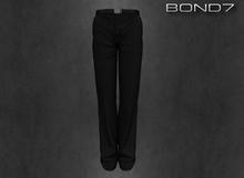 *BOND7* Baltono Suit Pants (Black: HUD)
