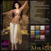 =Mirage= Maali Chalwar - White
