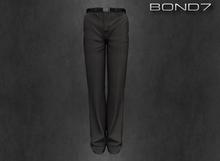 *BOND7* Baltono Suit Pants (Wolf Grey: HUD)