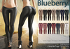 Blueberry rene leather pants