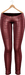 Blueberry - Rene Mesh Leather Pants - Maitreya/Belleza/Slink - Red