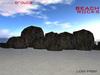 Anna Erotica - 15 Beach Rocks - 1 Prim!