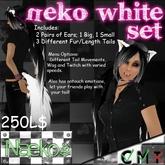 [Naeko] Neko White Set