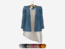 Bens Boutieque - Blazer&Dress Set Blue